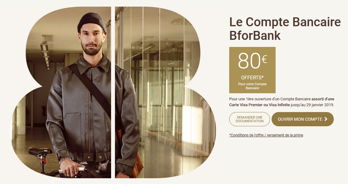 Compte courant BforBank