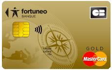 carte bancaire Fortuneo gold mastercard