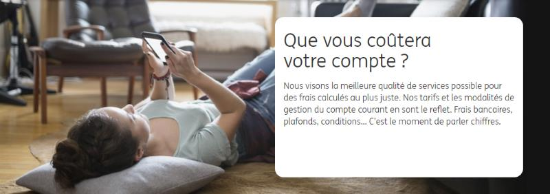 compte courant ing direct les tarifs