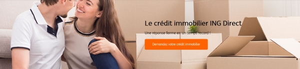 pret immobilier ING Direct