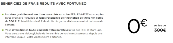 crowdfunding fortuneo