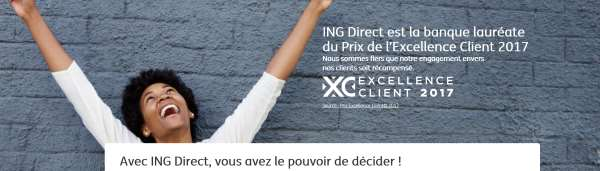 relation client ING Direct