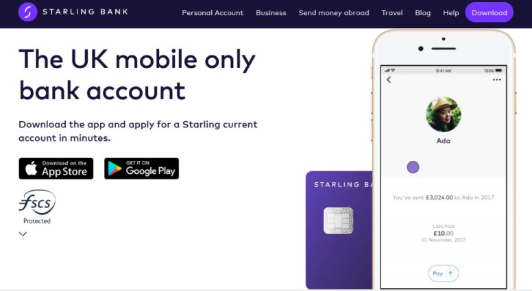 La néobanque Starling Bank arrive bientôt en France